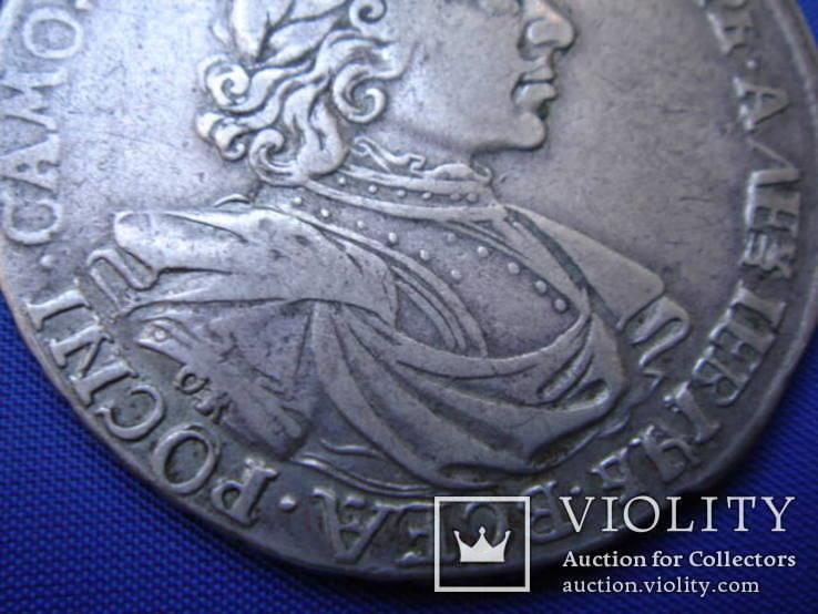 Рубль 1718 года ОК, фото №3