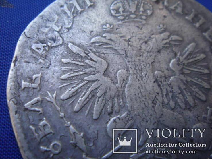 Рубль 1718 года ОК, фото №10