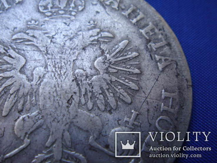 Рубль 1718 года ОК, фото №11