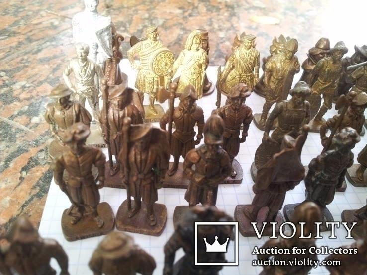 Коллекци солтатиков из киндеров 60шт, фото №2
