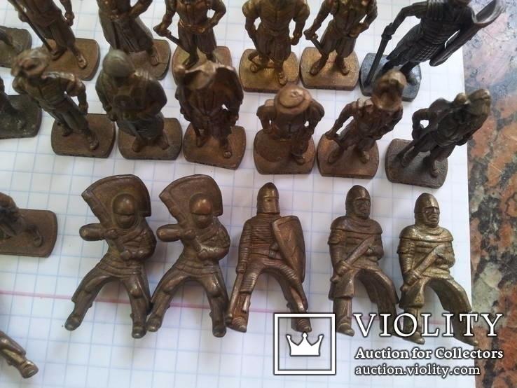 Коллекци солтатиков из киндеров 60шт, фото №8