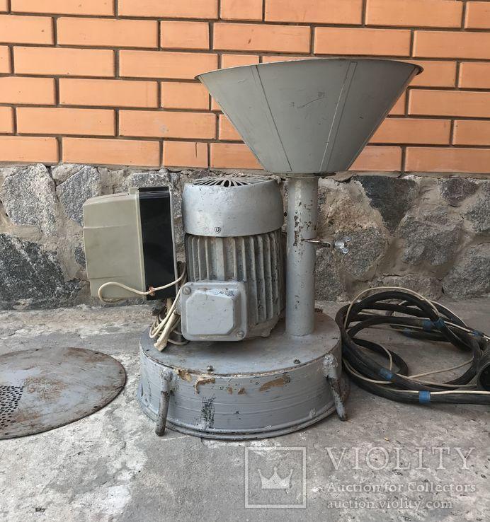Мельница электрическая 3-х фазная (380вт.) СССР, фото №8
