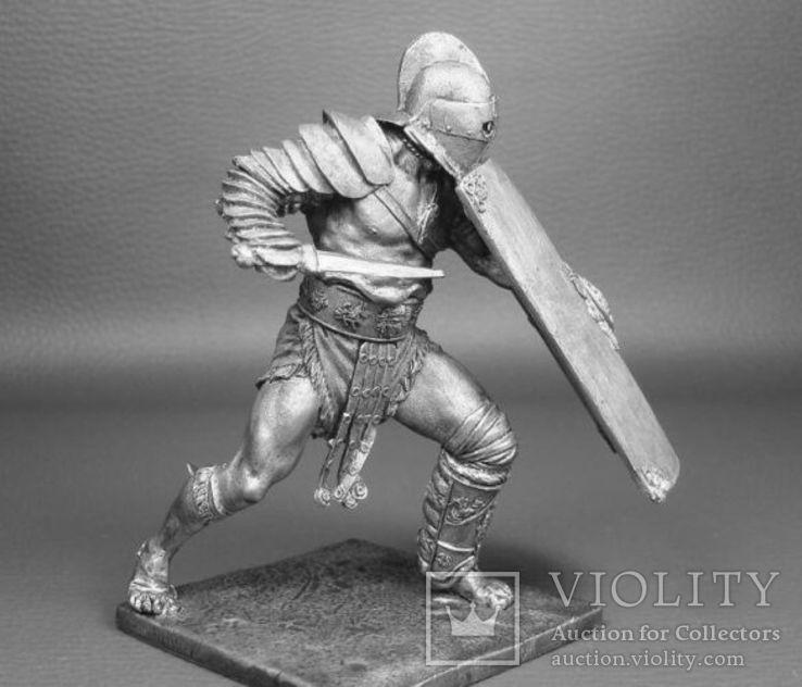 Рим.Гладиатор Секутор 1 век до н.э.75мм., фото №3