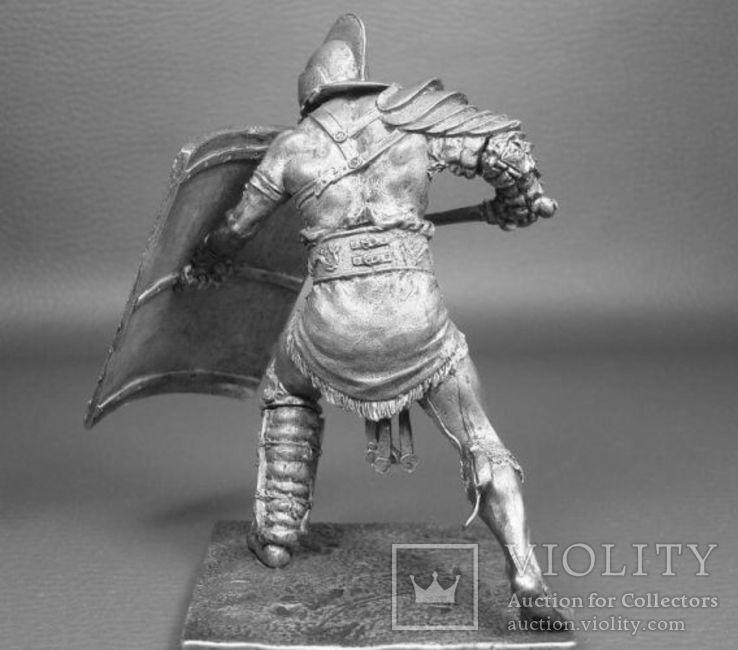 Рим.Гладиатор Секутор 1 век до н.э.75мм., фото №4