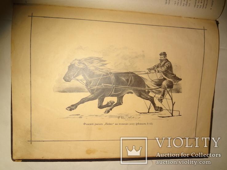 1900 Альбом Лошадей князя Урусова 31 на 23 см.