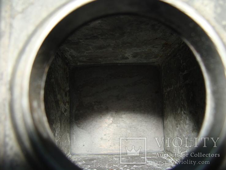 Коллекционный старинный сосуд фляга. Клеймо., фото №11