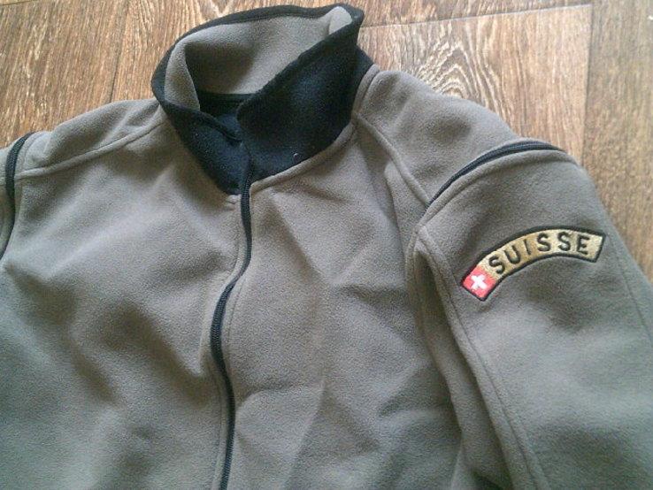 Army tex suisse - куртка на флисе