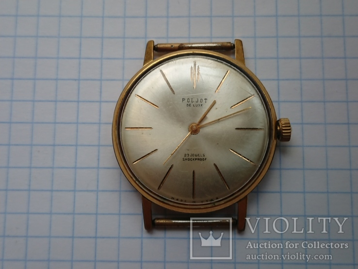 Часы Poljot de luxe au20