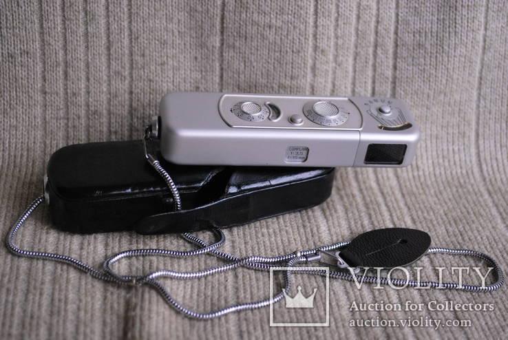 Фотоаппарат MINOX made in Germany, комплект, мини формат.