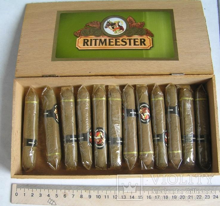 Сигары ritmeester в родной коробке (12 шт)