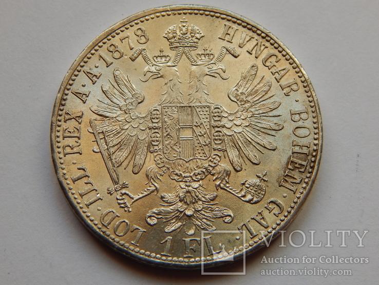 1 флорин, 1878 г Австрия