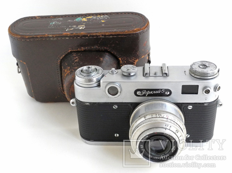 Фотоаппарат Зоркий-5 с объективом Индустар-50