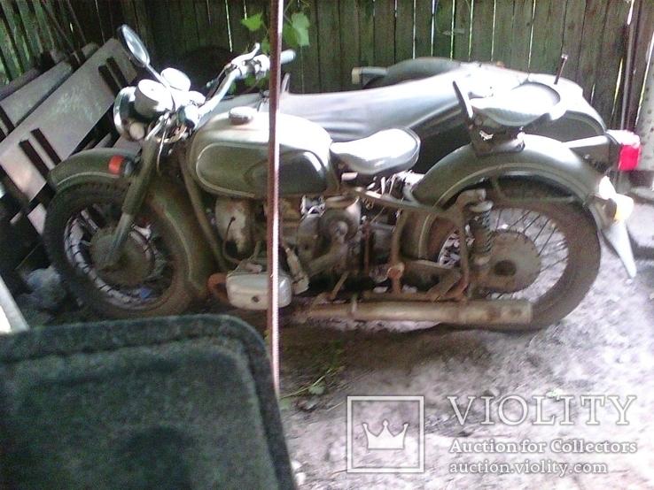 Мотоцыкл МТ-11 Днепр