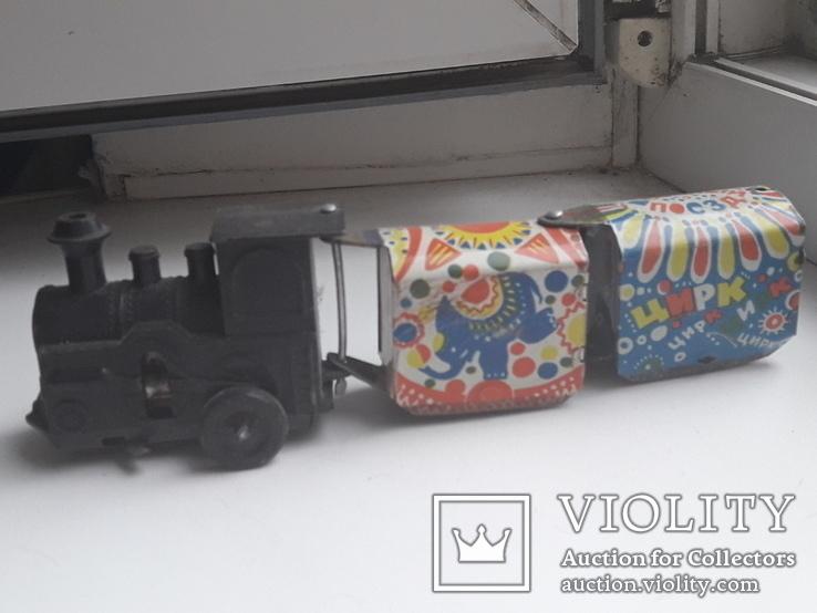 """Поезд с механизмом, """"Веселый поезд, фото №2"""