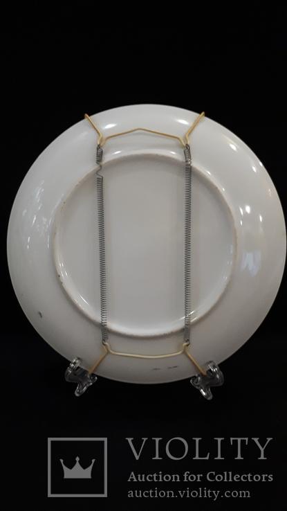"""Настенная тарелка """"Три гейши"""" с держателем., фото №7"""