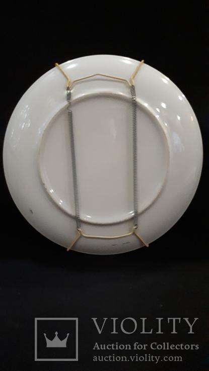 """Настенная тарелка """"Три гейши"""" с держателем., фото №8"""