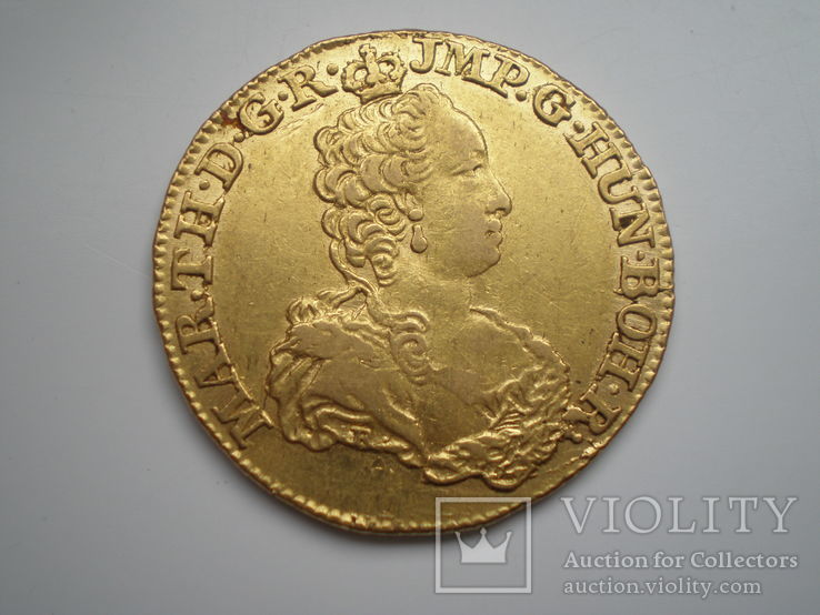 Двойной Соверен Марии Терезии 1750 г.