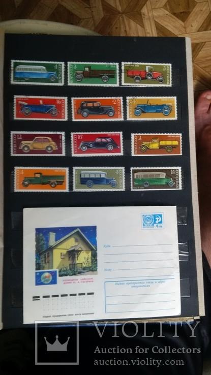 Альбом марок разных стран 406 шт