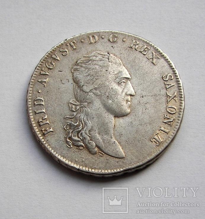 Талер 1808 Саксония