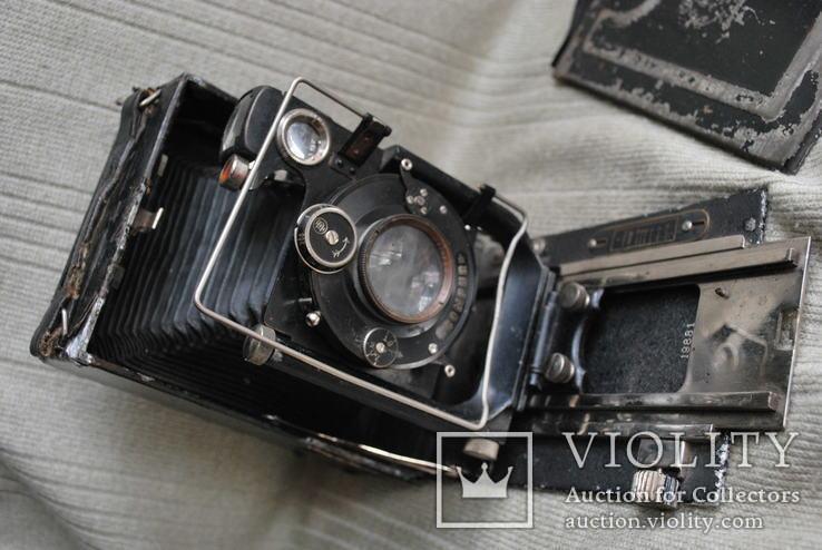 Фотоаппарат Фотокор-1, №19881, ВООМП, Compur, Анастигмат. №1, фото №6