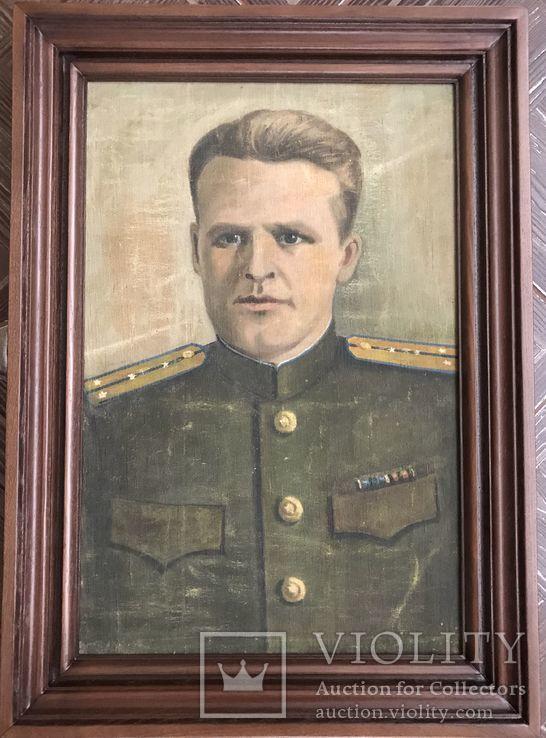 Портрет офицера в дубовой раме, фото №2