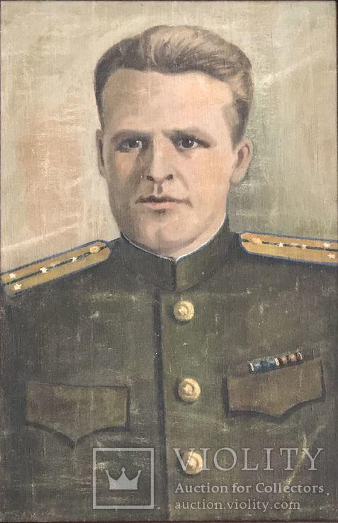 Портрет офицера в дубовой раме, фото №3