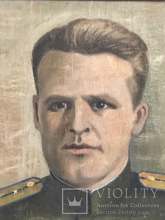 Портрет офицера в дубовой раме, фото №4