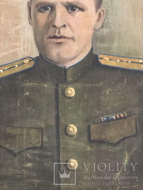 Портрет офицера в дубовой раме, фото №5