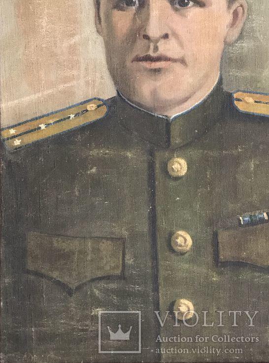 Портрет офицера в дубовой раме, фото №6