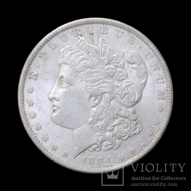 1 Доллар 1884 О Могран, США UNC