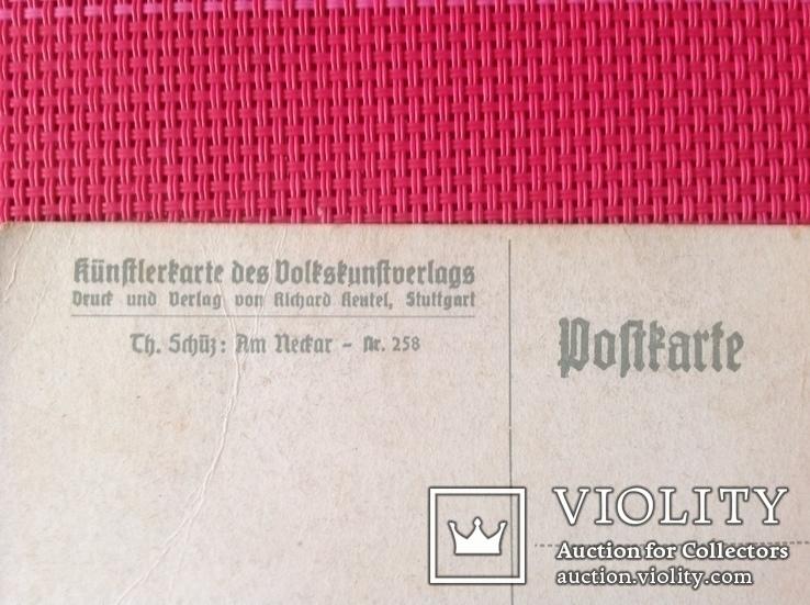 Почтовая Открытка старая Германия, фото №4