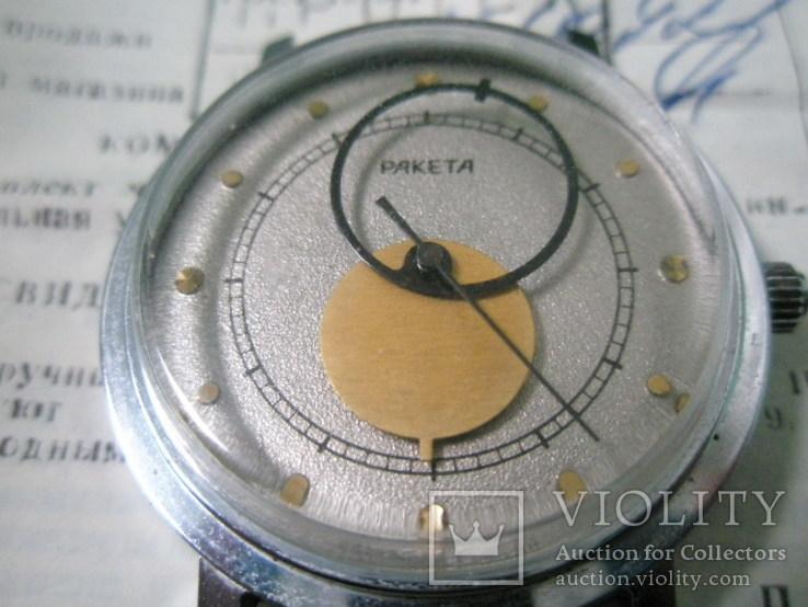 Часы ракета-коперник в коробке с паспортом