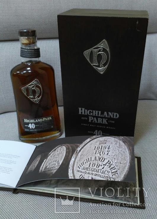 Элитные Виски Highland Park 40 Years Old, 0.7 л