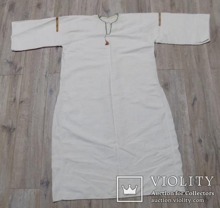 Полотняна жіноча сорочка, фото №7