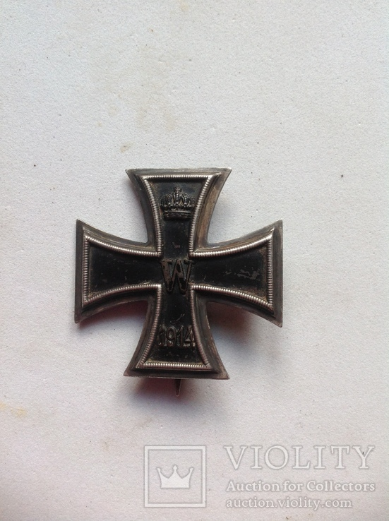 Железный крест 1 степени. Клеймо Ко.