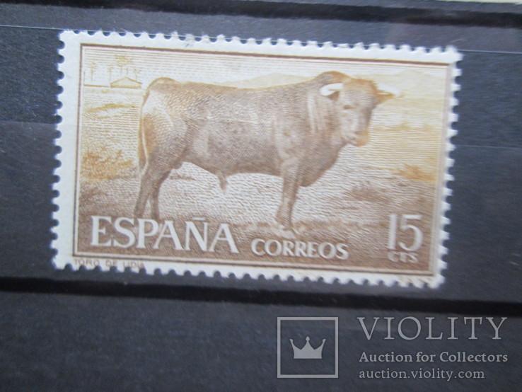 Испания 1960 фауна *