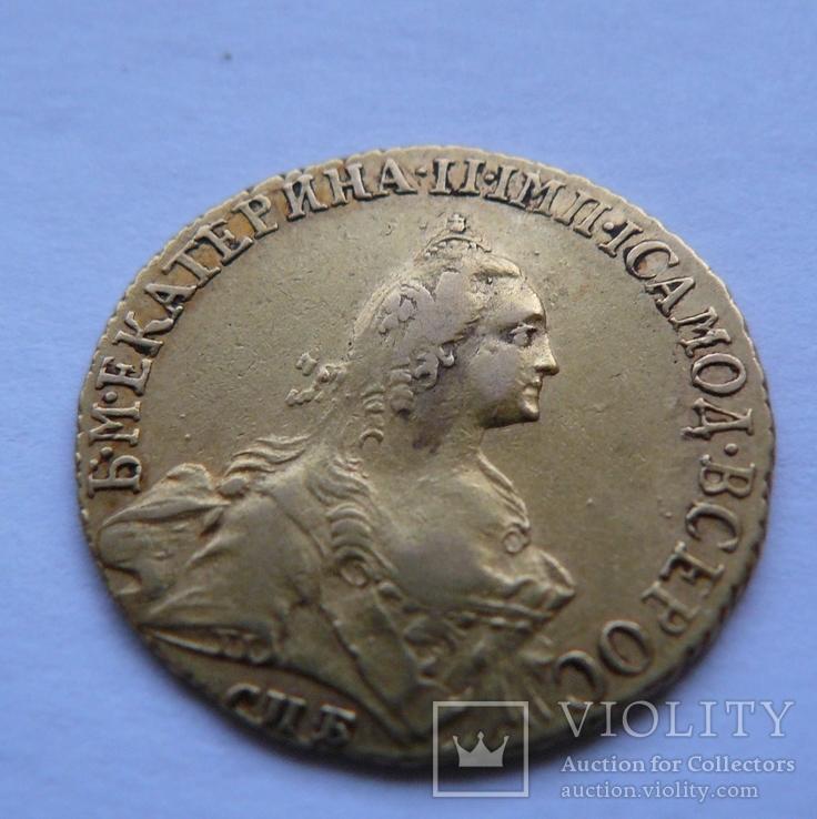5 рублей Екатерина II 1766 год