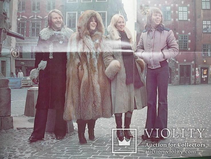 АВВА. 1977 г. С постером., фото №6