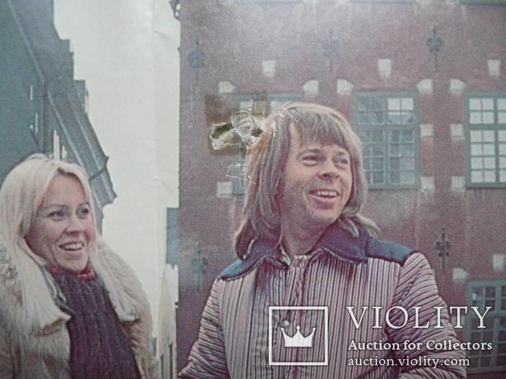АВВА. 1977 г. С постером., фото №7