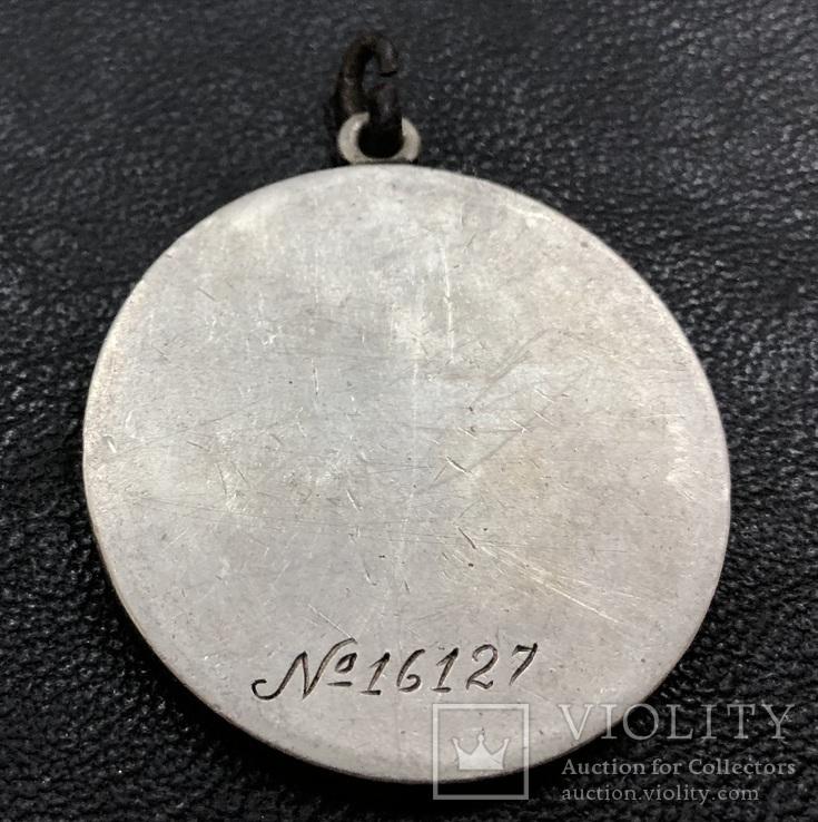Медаль За отвагу № 16127 (штихель)