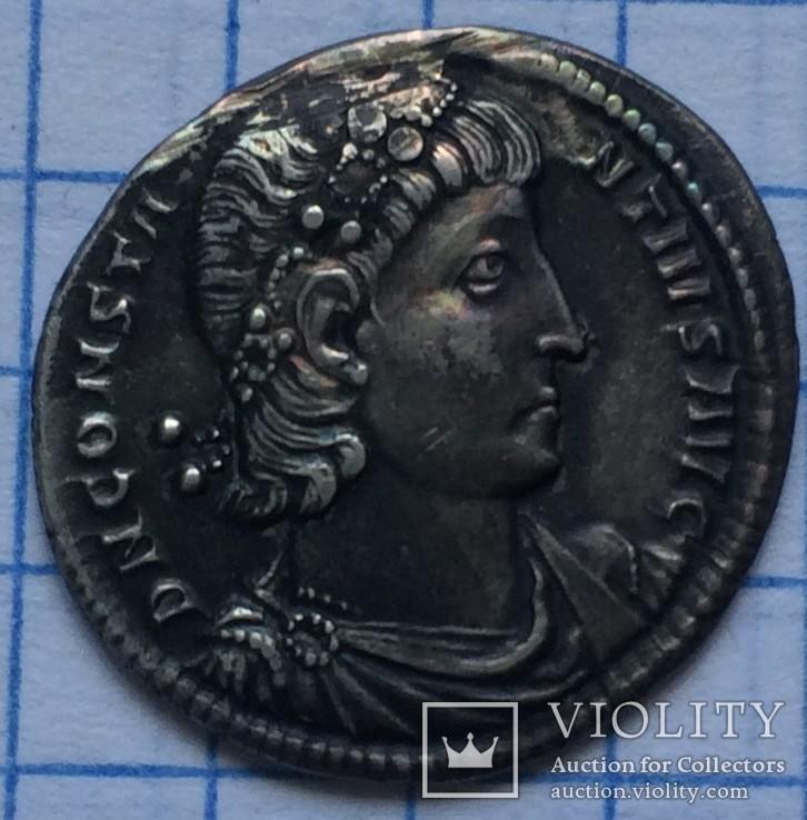 Силиква Констанция 2, монр.двор Константинополь