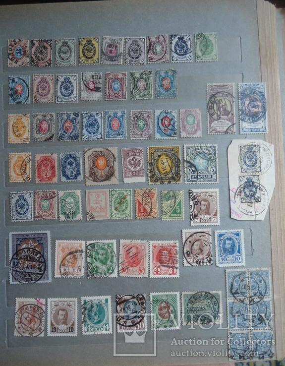 Царская россия 62 марок 1866-1921 гг
