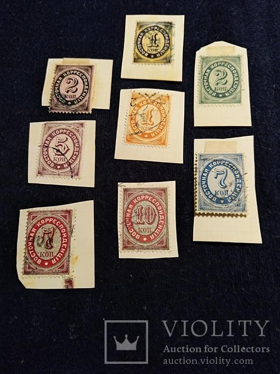 1879-1884 комплект имперских марок
