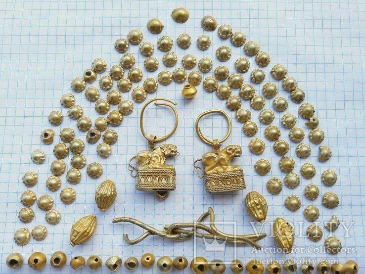Набір золотих прикрас Скіфи