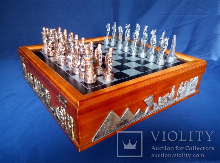 Коллекционные винтажные шахматы