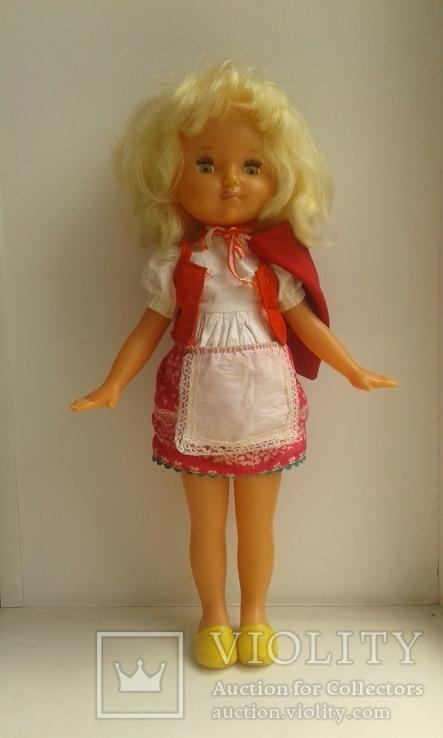 Кукла «Красная шапочка» на резинках СССР