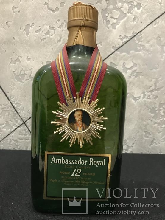 Ambassador Royal. Scotch Whisky 12-years-old 1980-x, 750ml 43vol.