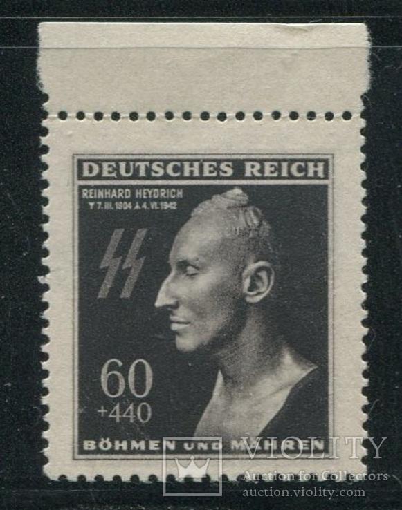 1943 Рейх Богемия и Моравия  Гейдрих СС полная серия