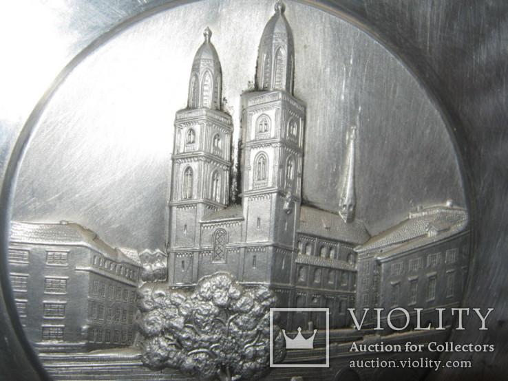 Тарелка декоративная Швейцария, фото №5
