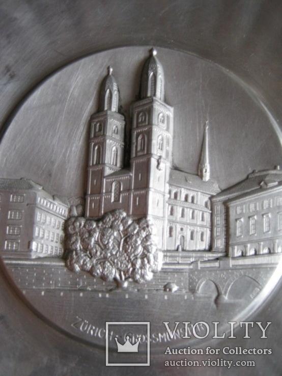 Тарелка декоративная Швейцария, фото №6